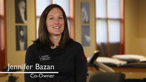 Jen Bazan, PT, DPT, Co-Owner