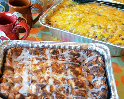 Catering: French Toast Casserole & Farmhouse Bake