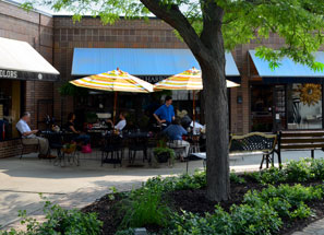 Patio is Open in the Spring/Summer!