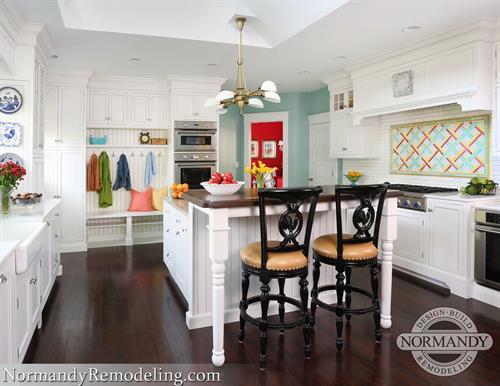 White Kitchen Remodel Hinsdale