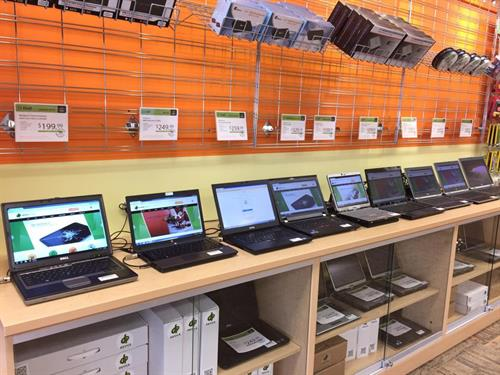 We have a wide variety of value laptops - all with a 90 day warranty!