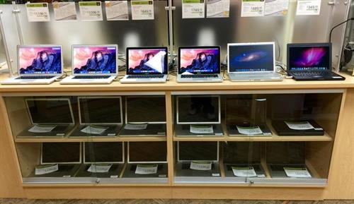 We have the largest selection of Apple/Mac machines at the best prices!