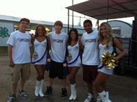 Minnesota Viking Cheerleaders with Anytime Fitness