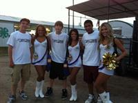 Minnesota Viking Cheerleaders with Anytime Fitness