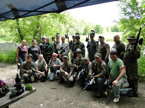 Client Adventure:  Paintball