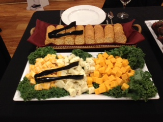 Yummy cheese & cracker samples from our recent Biz to Biz Event at the Friendly Buffalo
