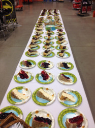 We had 150 guests for our Employee Appreciation Event at the Home Depot in Bloomington