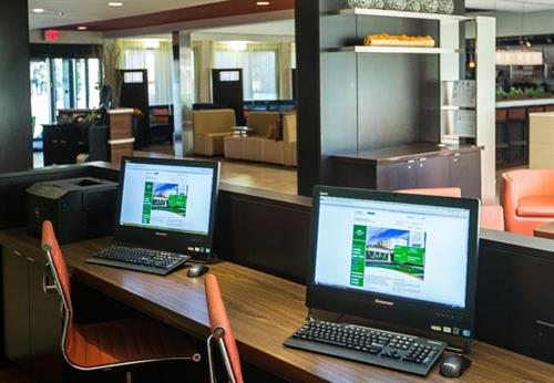 Use free Internet throughout the hotel and print boarding passes from our lobby.