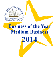 2014 South Tampa Chamber Medium Business of the Year