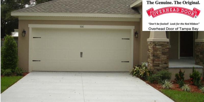 Overhead door company of tampa bay garage door for Bay area garage doors