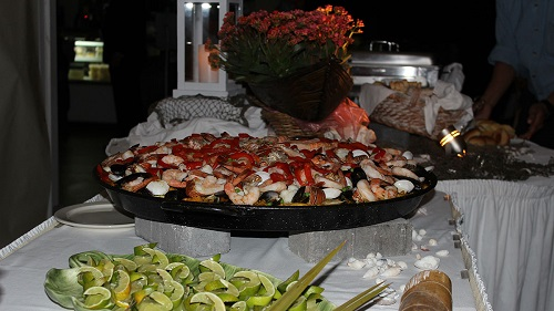 Big Seafood Paella