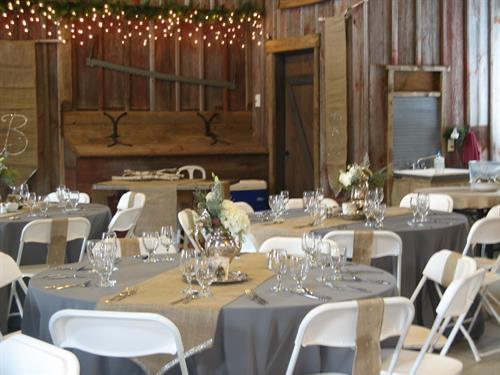 The Barn Lodge Event Room