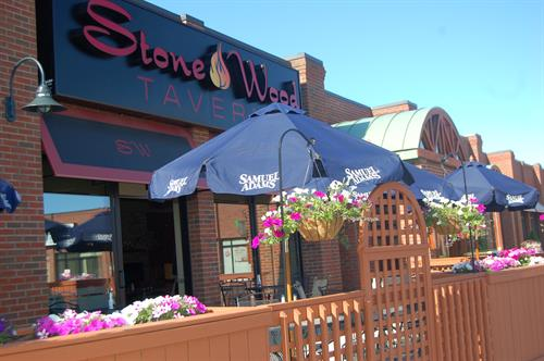 Patio Dining at Stonewood Tavern