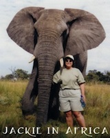 Jackie in Botswana Africa