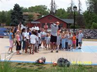 CHF Summer Youth Program at with the Nuggets Basketball Team, g