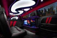 Interior of Challenger limo