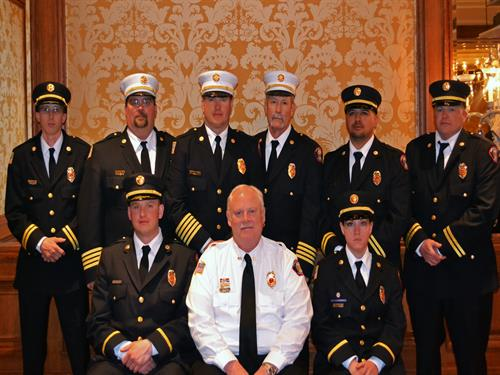 2014 LCFD#2 Officers