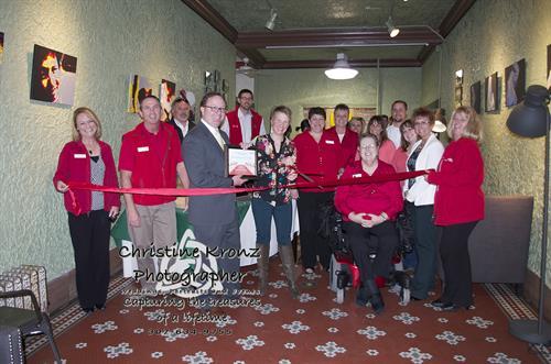 Judy Fossum VoiceOvers Red Carpet (4/17/14) - photo courtesy of Christine Kronz, Photographer LLC