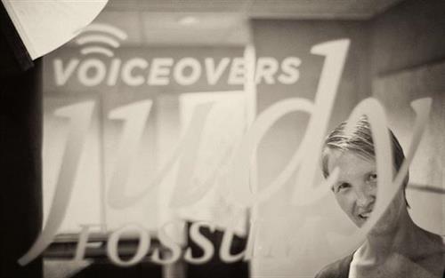Studio door - Judy Fossum VoiceOvers