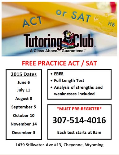 Act test dates 2015