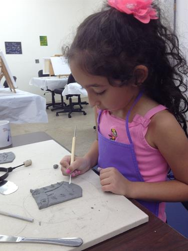 Kids' Art Camp all summer!