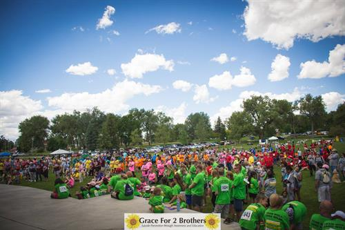 Over 1,700 people joined us in 2015 at the Walk of Grace!