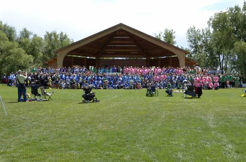 Over 1,200 registered walkers attended our Walk of Grace in 2014.  We are expecting at least 1,500 for 2015.