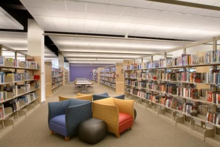 Quiet reading areas