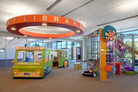 The popular Book Factory and Baby Bookmobile