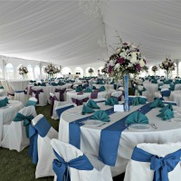 Beautiful tent liners for all events!