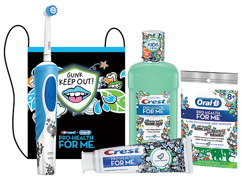 Kids Dental Products Available