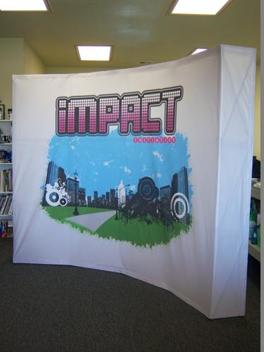Tradeshow Display (Pop-up)