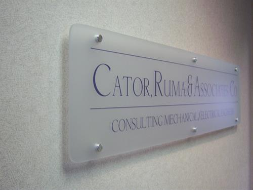 Interior Logo Display