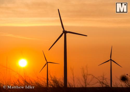 Windfarm in Northeastern Colorado