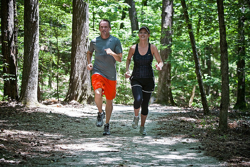 Joggers on Trails in Hot Springs Village