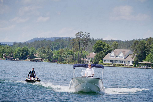 Enjoy Water Sports in Hot Springs Village
