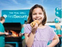 We love our community.  Our famous teal grill is availble for organizations to borrow, call 501-303-5526 to inquire about it.