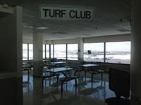 Turf Club - Great for parties of 100+ people with private bar and great view of the paddock area.