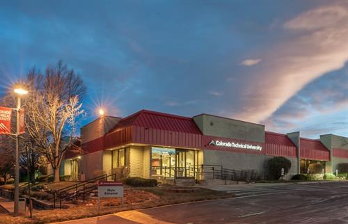 CTU Colorado Springs Campus Located at I-25 and Garden of the Gods Road