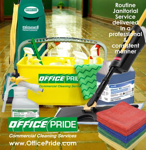 Office Pride Commercial Cleaning Services Janitorial