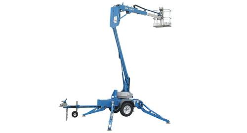 Genie TZ34 foot Towable man lift
