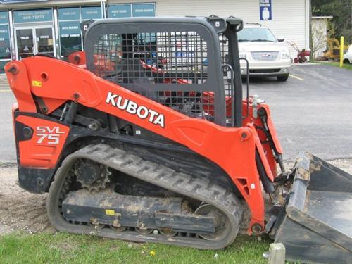Kubota SVL75 Skid Loader