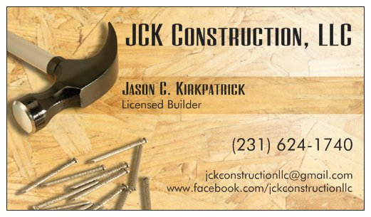 JCK Construction, LLC