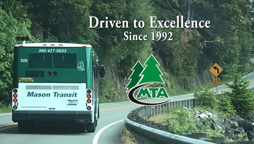 MTA Bus on Hwy 101