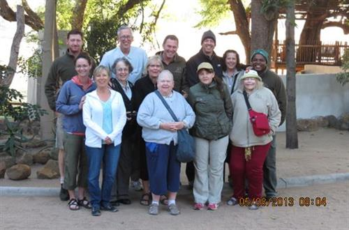 2013 Group to South Africa!