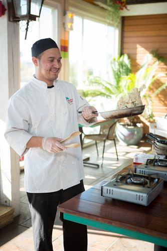 Bahama Breeze Chef Demonstration