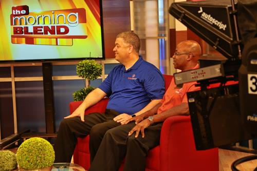 Stormie and Darrell on The Morning Blend