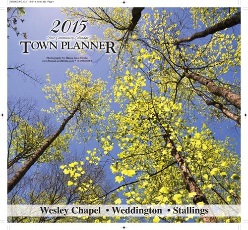 2015 Weddington - Wesley Chapel - Stallings Calendar 28104