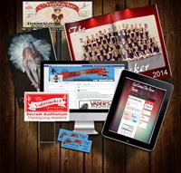 Yard Signs, Catalogs/Programs, Posters, Website, Flyers, Event Tickets