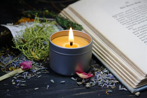 Beeswax Aromatherapy Candle in Tin